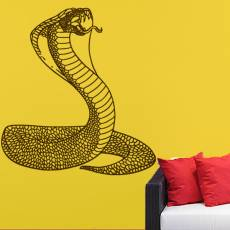 Wandtattoo Schlange Cobra