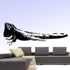 Wandtattoo Leguan