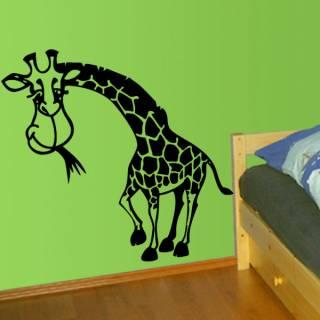 Wandtattoo Tiere Giraffe Afrika