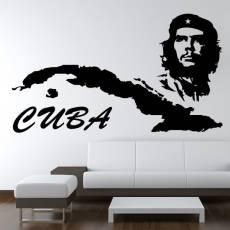 Wandtattoo Cuba Che Land Kuba