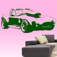 Wandtattoo Auto Cobra GT