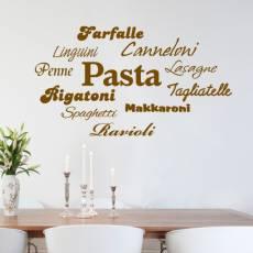 Wandtattoo Deko Pasta Nudeln Küche